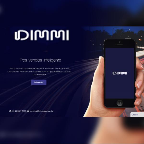 Dimmi – Landing Page